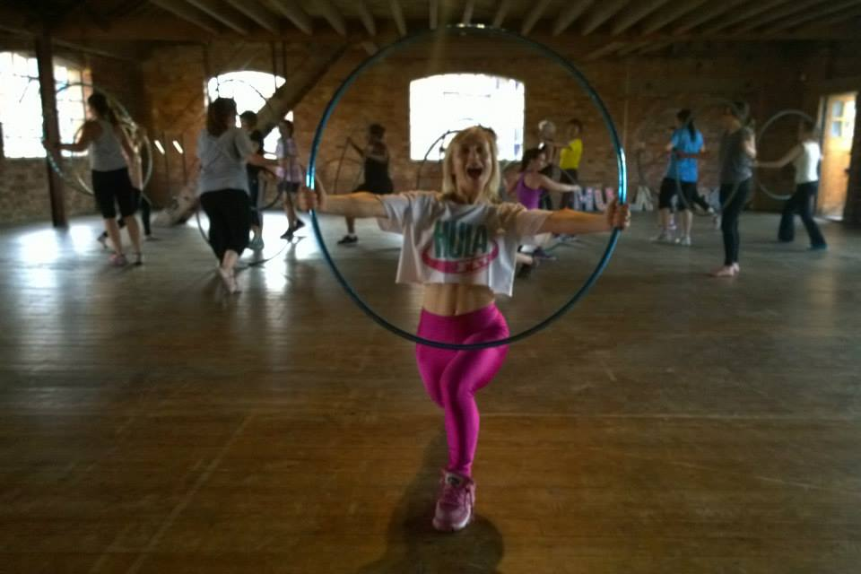 HulaFit taught classes for Handpicked London