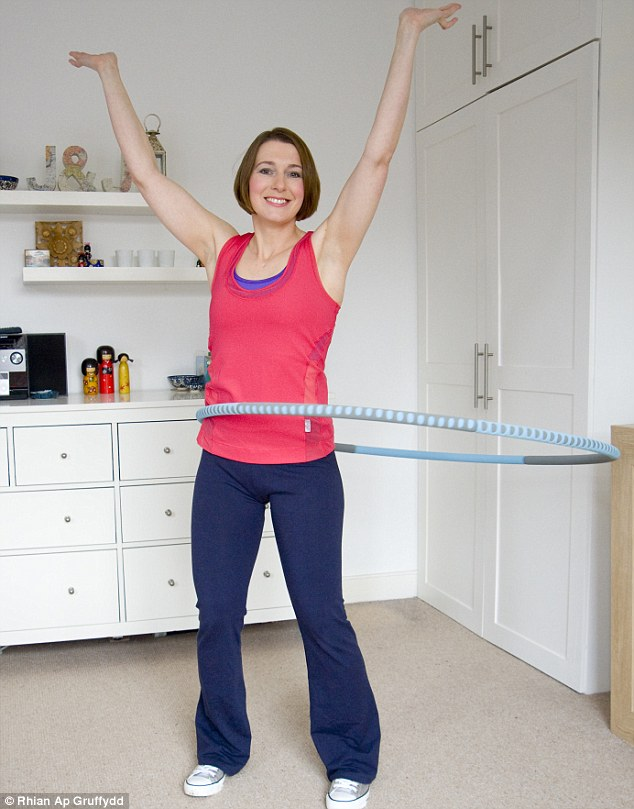 Daily Mail article on Hula hooping for fitness